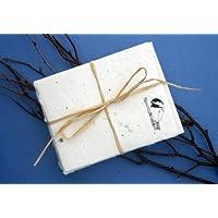 Cast Paper Art Note Cards-Chickadee 1 Pk-10 Cards Eco-Conscious Eco-Conscious Product Line