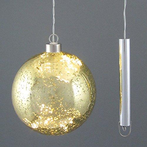 Pureday Weihnachtsdeko Dekoobjekt Kugel Magic Lights Led