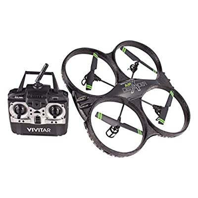 Vivitar's Air Defender X Camera drone is the perfect drone for all types of flying fun. With 16 MP images and HD video recording