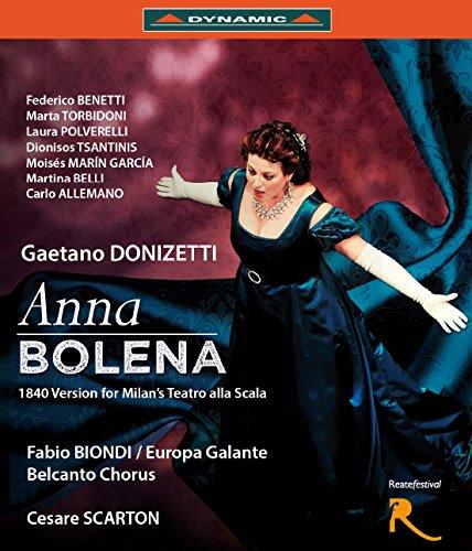 Donizetti: Anna Bolena (Teatro Flavio Vespasiano, Rieti/Italien, 2013) [Blu-ray]