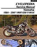 1985-2007 Yamaha VMX1200 V-MAX Service Manual (English Edition)