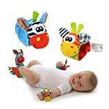 BABY EAMS 4pcs/lot Baby Toy Baby Rattles...