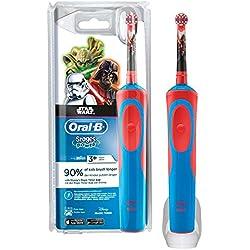 Oral B Star Wars–elektrischen Bürste, Akku und Zahnpasta Oral B, blau und rot