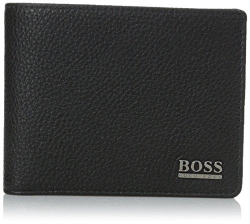 HUGO BOSS Geldboerse Monad schwarz Schwarz