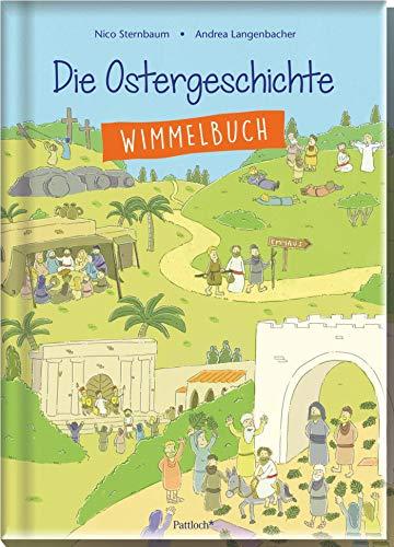 Die Ostergeschichte: Wimmelbuch (Für Palmsonntag Kinder)
