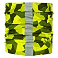 Buff Dog Reflective R-Block Camo Green