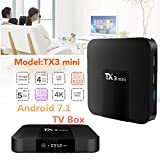 2GB RAM 16GB ROM TX3Mini TV Box Amlogic s905W 2,4GHz WiFi Android 7.1unterstützt 4K meidia Player