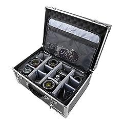 HMF 18440 Kamerakoffer, Fotokoffer Aluminium