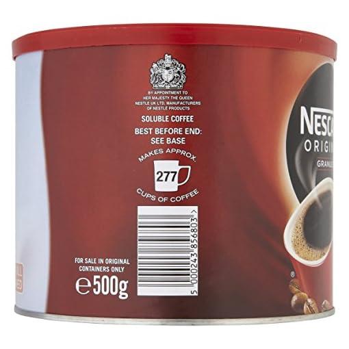 Nescafe Original Instant Coffee Granules, 500g