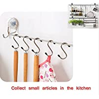 "Zollyss 10 Pcs/lot Powerful S"" Shape Type Stainless Steel Storage Hanger Hooks Organizer"