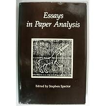 Essays in Paper Analysis
