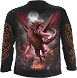 Spiral Men - Awake The Dragon - Longsleeve T-Shirt Black