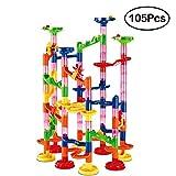 TurnRaise 105pcs marmo Run ferroviaria giocattoli costruzione bambino costruzione blocchi giocattoli
