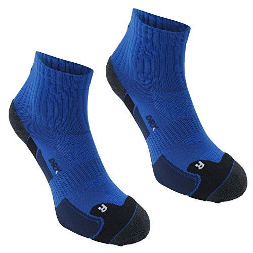 2 Paar Karrimor Herren Dry Skin Laufsocken Running Jogging Sport Socken Funktionssocken Blue/Navy Mens 7-11 (Sport-socke Pro Dry)