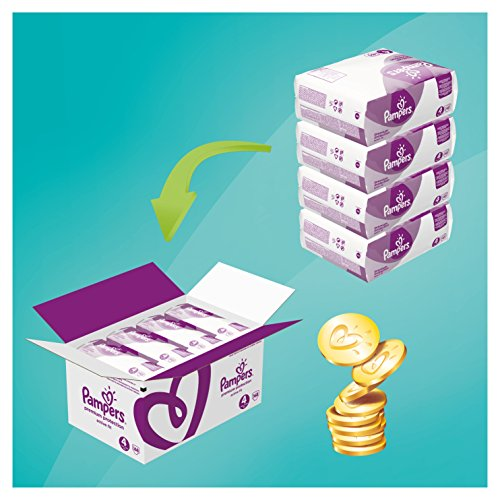 Pampers Windeln Active Fit Gr. 4 Maxi 7-18 kg Monatsbox, 1er Pack (1 x 168 Stück) - 2