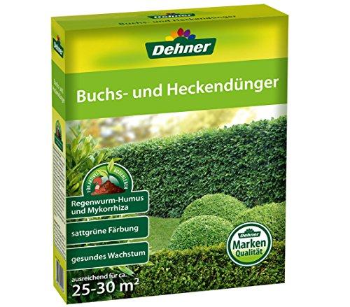 Dehner Buchs- und Heckendünger, 2 kg, für ca. 25-30 qm
