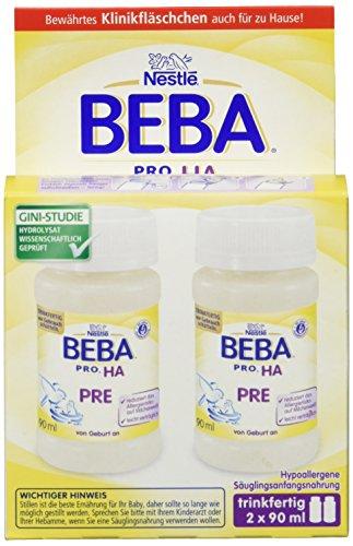 Nestlé BEBA  PRO H.A. PRE, 6er Pack (6 x 2 x 90 ml)