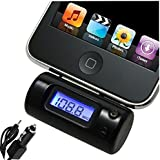 Transmitter to FM Radio & Car Charger for iPhone 3G 3Gs 4 4S iPod Touch 2nd/Second Gen/Generation