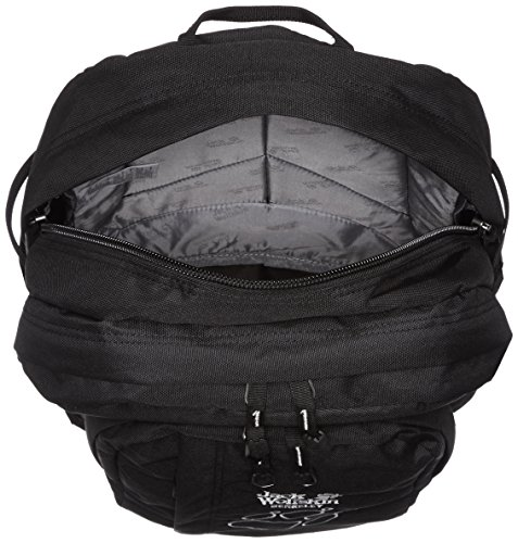 jack wolfskin unisex rucksack berkeley schwarz one size. Black Bedroom Furniture Sets. Home Design Ideas