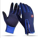 ZLQF Touchscreen Handschuhe Winddicht Fahrradhandschuhe Wasserdicht Für Winter Radfahren Und Outdoor Sports Herren Und Damen