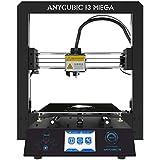 Anycubic I3 Mega Impresora 3D Inteligente de Leveling con 3.5 Inch Pantalla Táctil y Tamaño de Impresión Grande