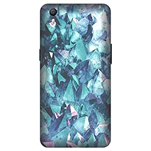 Oppo A37F/Oppo A37 Marble Texture Printed Hard Polycarbonate Designer Back Case Cover by Mobi Elite