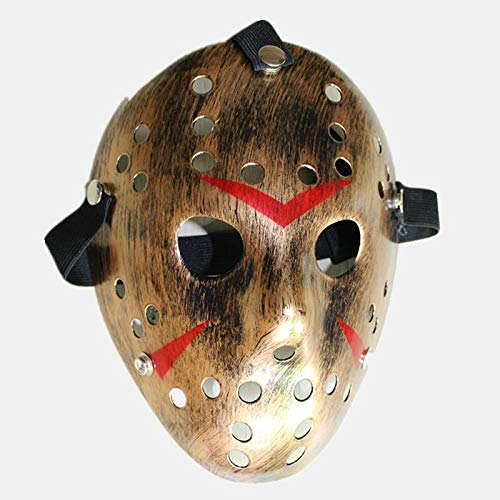 1pcs/lot Black Friday No.13 Jason Voorhees Freddy Hockey Festival Party Halloween Masquerade Maskenmaske (erwachsenengröße) 100gram 80g Type1
