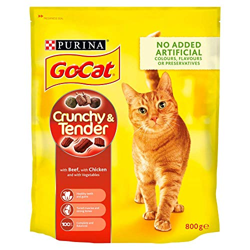 Go-Cat Crunchy and Tender Dry Ca...