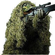 XYLUCKY Camo Costumes Ghillie Costumes 3D Woodland Camouflage vêtements armée  Sniper vêtements Militaires Pantalons Jungle Chasse 9a4efa5dca0