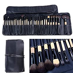 32stk. Make up Pinsel Set profi Kosmetik make up Pinselset mac mit Tasche