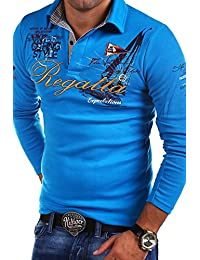 MT Styles manches longues Polo REGATTA homme R-0665