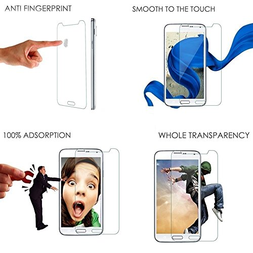 Plus 0.3mm Premium Anti Explosion Tempered Glass, 9H Hardness Ultra Clear, Anti-Scratch, Bubble Free, Anti-Fingerprints & Oil Stains Coating for Kindle Paperwhite