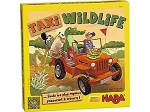 Taxi Wildlife ... Seuls les plus rapides passeront à travers! - Haba