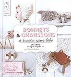 Bonnets et chaussons à tricoter pour bébé...