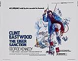 The Eiger Sanction - Clint Eastwood - U.S Movie Wall Art