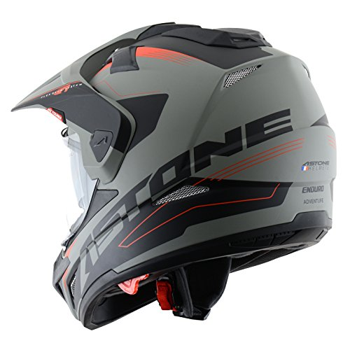 Astone Helmets tourer-advbrl Kopfhörer Tourer Adventure, Grau/Schwarz, M - 2