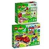Lego Duplo 2er Set 10882 10874 Eisenbahn Schienen