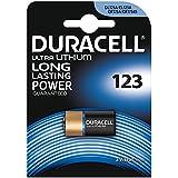 Duracell - Batterie Lithium spéciale appareils photo - 123 B1 Ultra/ Ultra lithium x1 (equivalent CR17345, EL123AP, CR123A, K123LA)