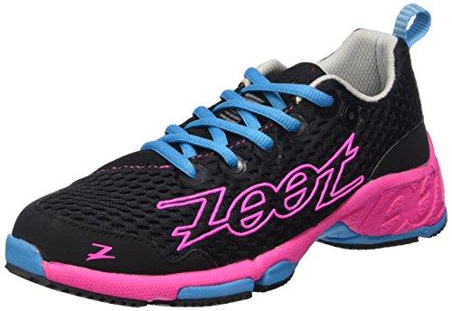 Zoot W BANYAN, Scarpe da corsa donna Multicolore (Mehrfarbig (black/pink glow/atomic blue))