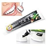 Transer ® Bambus-Holzkohle Zahnpasta Aktivkohle Whitening Zahnpasta Mundpflege Portable für Reise -1.76oz (50 g)