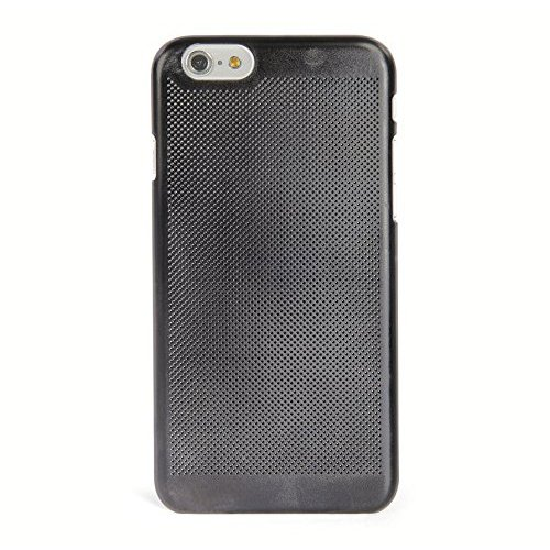 Tucano IPH64T-CR Tela Custodia per Apple iPhone 6, Corallo Nero