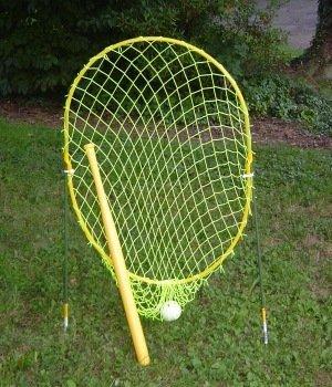 Xtra Feldspieler Standard Strike Zone Net mit Wiffle Marke Schläger und Ball -