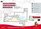 Satz 2: Mecklenburg-Vorpommern - Bornholm (Ausgabe 2015): Mit Lübecker Bucht und Stettiner Haff