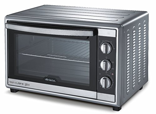 Ariete UK 945 Bon Cuisine 500 Mini Electric Oven, Silver