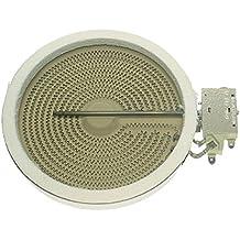Einkreis HiLight Strahlheizkörper 2300W 230V Original EGO 10.58111.004 Glaskeramik Kochfeld Ceranfeld Universal Electrolux AEG 3740637214 374063721 Privileg Faure ArthurMartin Zanussi ACEC Husqvarna