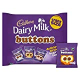 Cadbury Dairy Milk Buttons Chocolate Treat Size Minis 12 Pack 170G