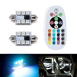 100LM 33LEDs SMD-3014-Auto-Kfz-Kennzeichen-Licht//Dome Licht Auto-Innenbeleuchtung 2 PCS 41mm DC12V Auto-Innenbeleuchtung 1,5 W 6000K