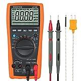 Proster Multimetro Digitale Auto-Ranging / Multimetro Misuratore Amp / Ohm / Volt - Multi Tester con Test Capacità e Misura Temperatura