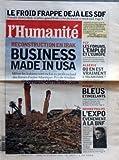 Telecharger Livres HUMANITE No 18413 du 27 10 2003 LE FROID FRAPPE DEJA LES SDF RECONSTRUCTION EN IRAK BUSINESS MADE IN USA PCF LES FORUMS L EMPLOI ET L EUROPE ALGERIE OU EN EST VRAIMENT L ISLAMISME RUGBY BLEUS ETINCELANTS GERARD PHILIPPE L EXPO EVENEMENT A LA BNF (PDF,EPUB,MOBI) gratuits en Francaise