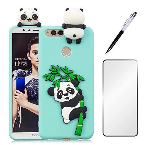 Funda Huawei Honor 7X + Protector de Pantalla, JINCHANGWU Carcasa Huawei Honor...
